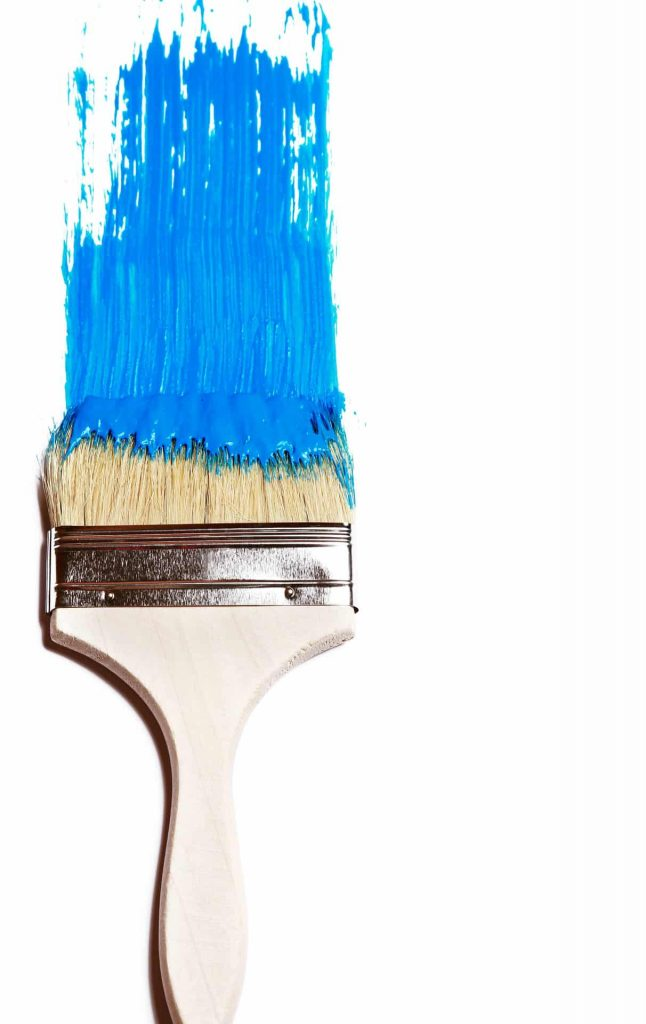 Painting Brush Blue