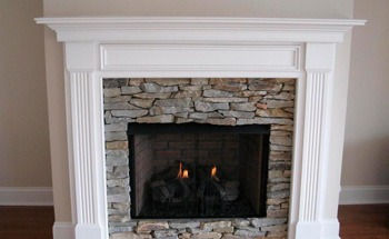 mantle crown molding painting