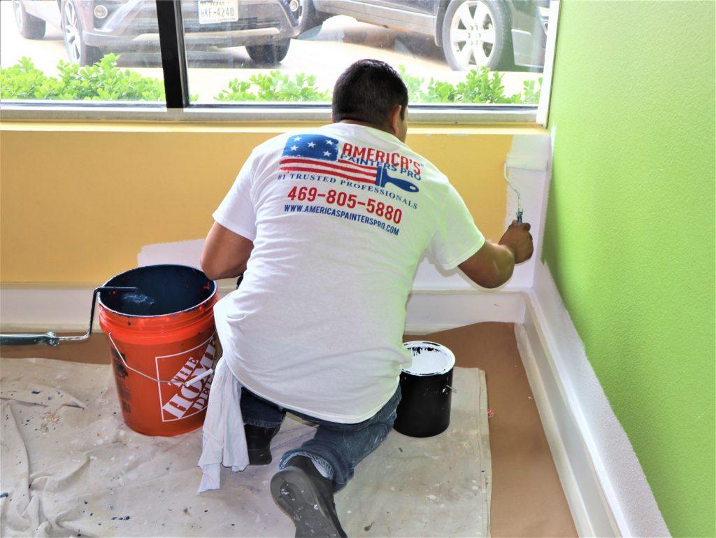 Commercial interior painting Denton