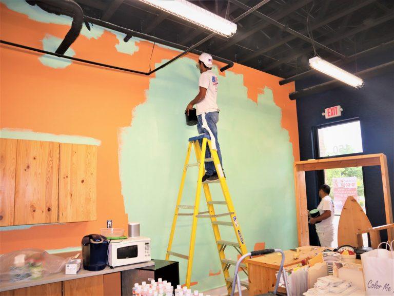 Dallas, TX Commercial painter