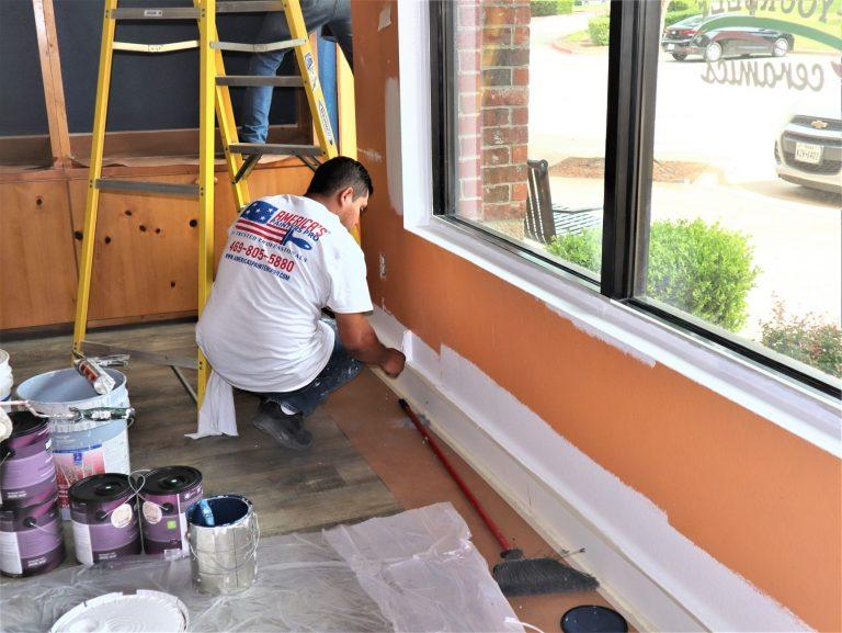 Frisco commercial painter