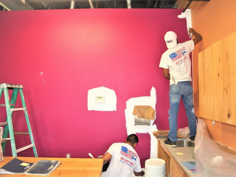 Plano commercial painter