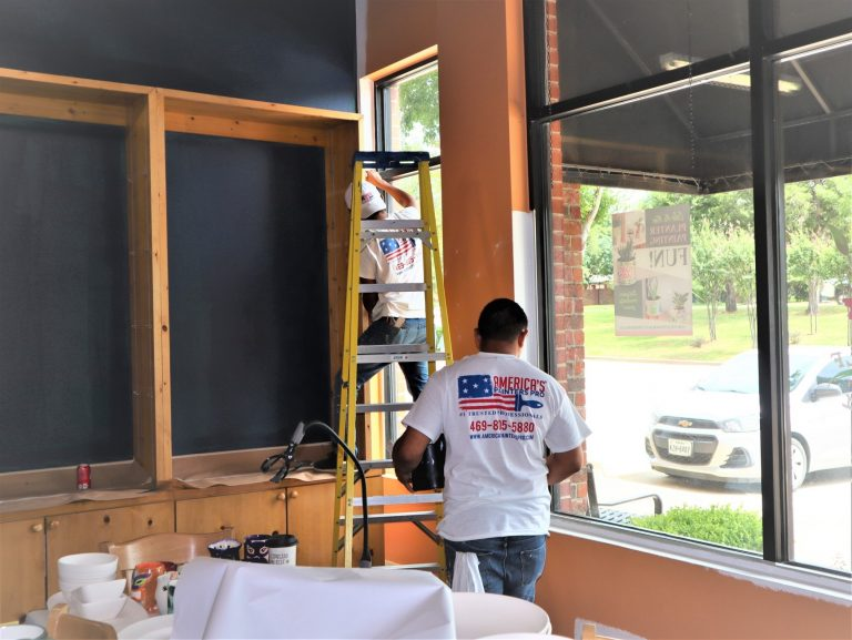 commercial painting company - McKinney