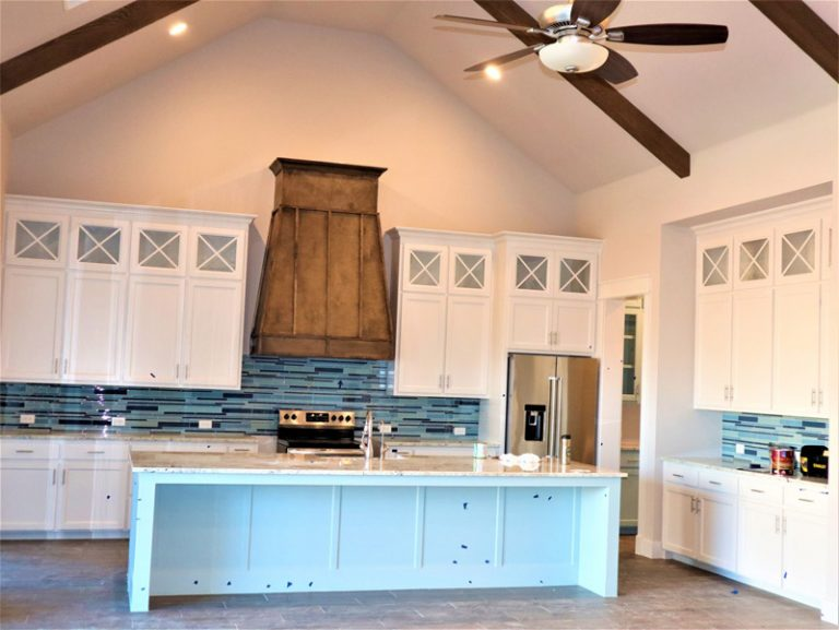 Cabinet painting in Celina, TX
