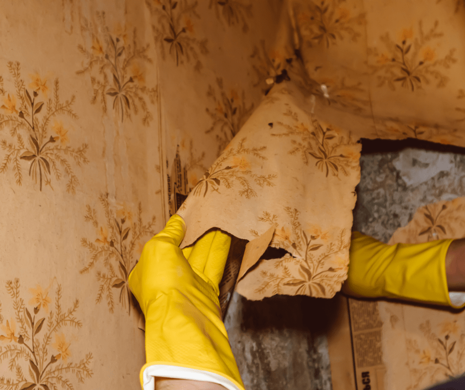 wall paper removal frisco texas